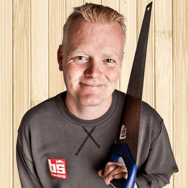 Tømrermester Bjarne Svenstrup