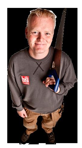 Tømrer Bjarne Svenstrup