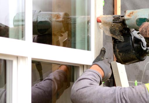 Bjarne Svenstrup Tømrermester i Hørning - vindues montering